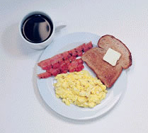 360 calories -- From The Diet Blog