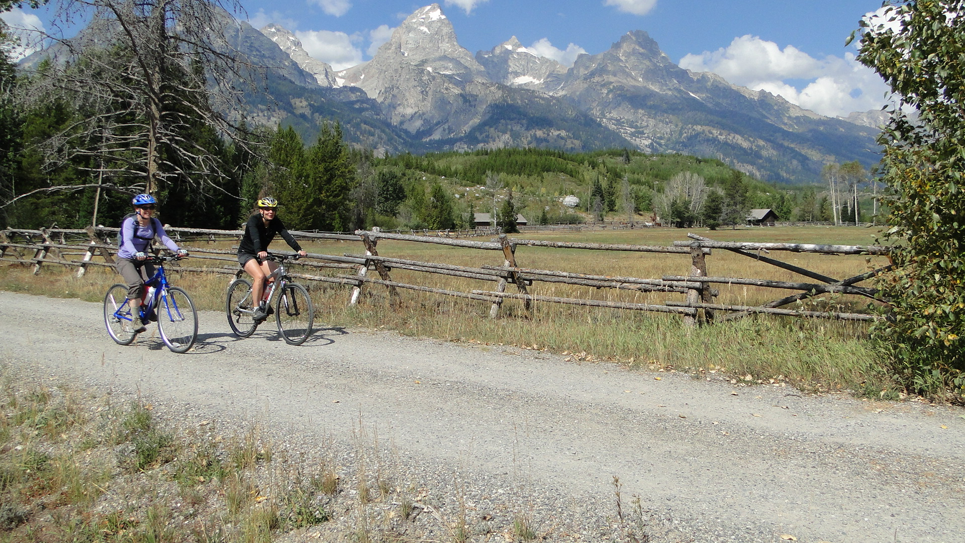 Grand Teton National Park is worth a pedal.